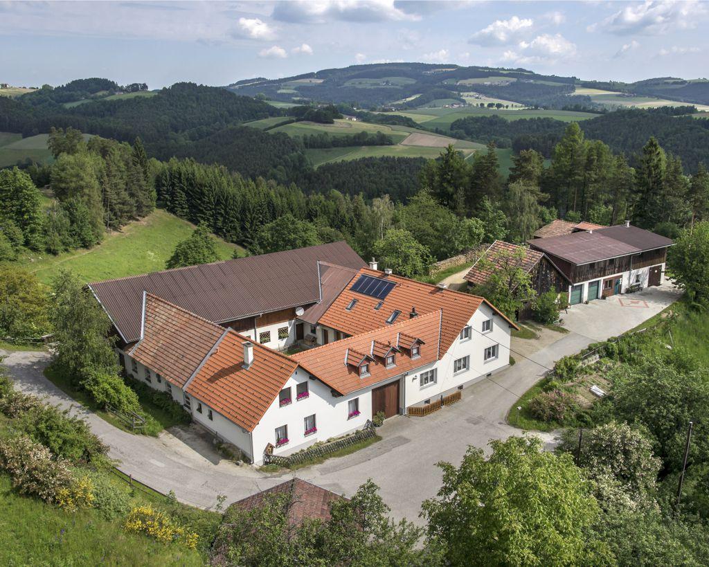 Unser Haus und Betrieb in Krumbach, Kraxenberg