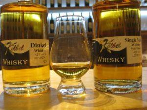 Dinkel Whisky und Single Malt Whisky