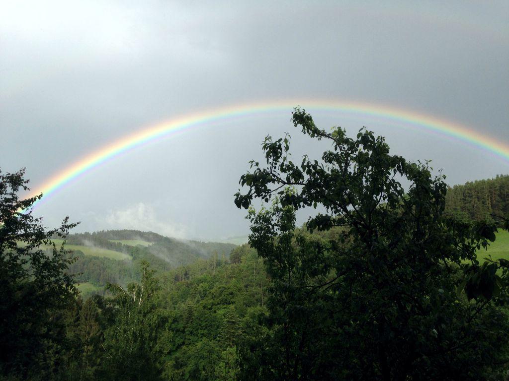 Regenbogen in der Buckligen Welt