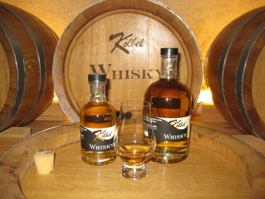 Der abgefüllte Whisky. Einfach zum Genießen