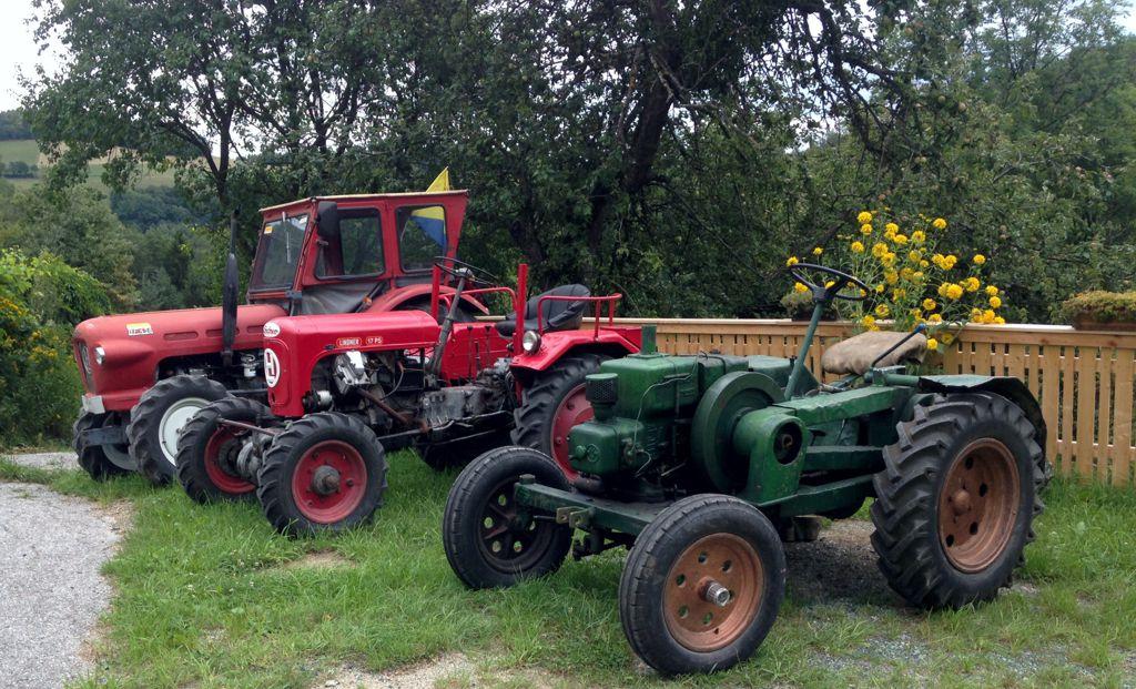 Oldtimer-Traktore der Marke Lindner, Baujahr 1950 – 1964